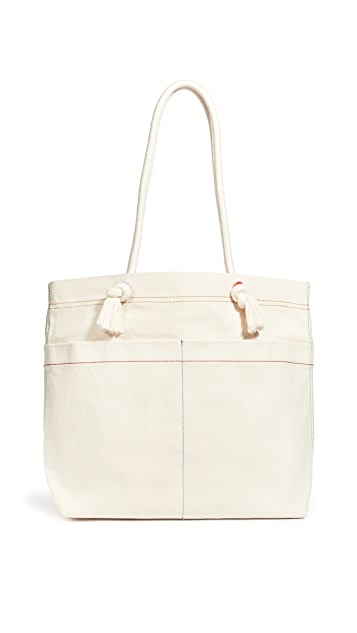 Madewell The Canvas Transport Tote: Corded Handle Edition