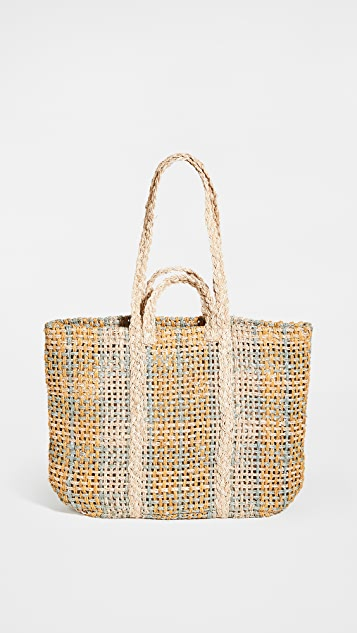 Madewell The Straw Beach Tote Bag