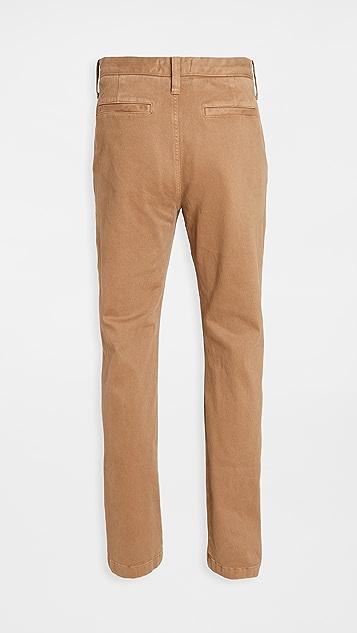 Madewell Heavy Twill Slim Chino Pants