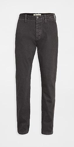 Madewell - Heavy Twill Slim Chino Pants