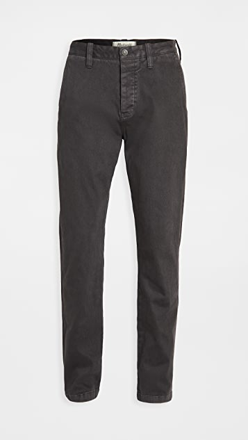 Madewell Heavy Twill Slim Chino Pants