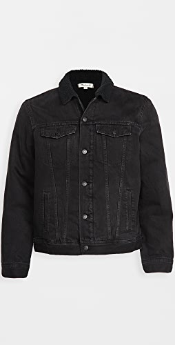 Madewell - Sherpa Lined Denim Jacket