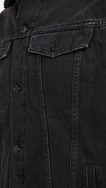 Madewell Sherpa Lined Denim Jacket