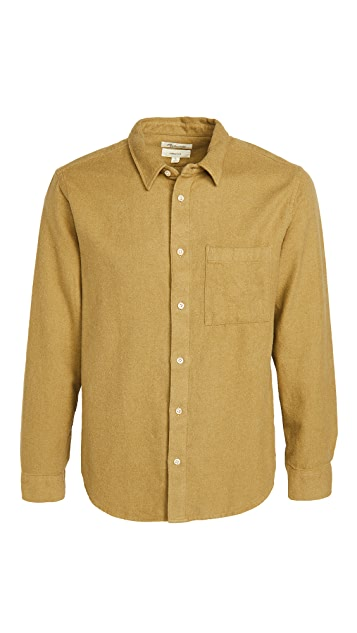 Madewell Flannel Perfect Button Down Shirt