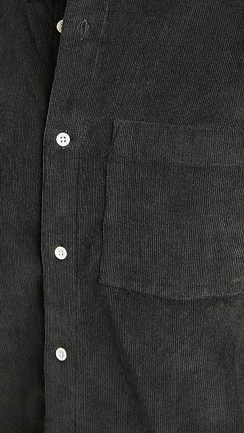 Madewell Corduroy Perfect Button Down Shirt