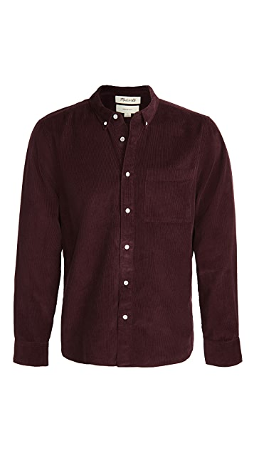 Madewell Corduroy Perfect Button Down Shirt