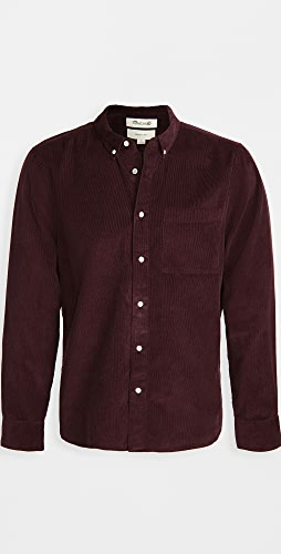 Madewell - Corduroy Perfect Button Down Shirt