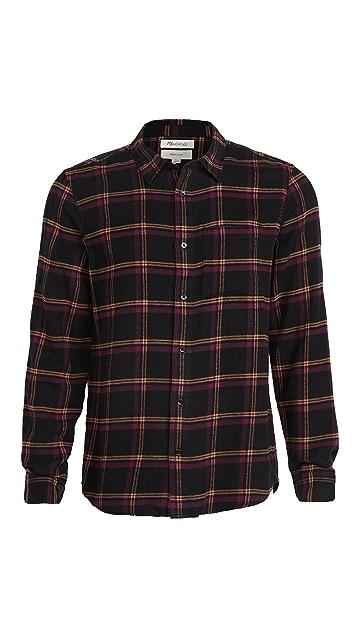 Madewell Plaid Perfect Button Down Shirt