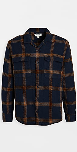Madewell - Camp Collar Plaid Overshirt