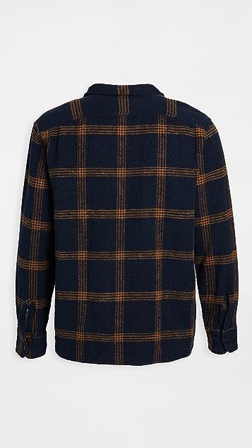 Madewell Camp Collar Plaid Overshirt
