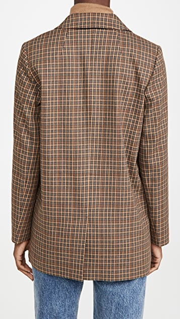 Madewell Caldwell 双排扣西装外套