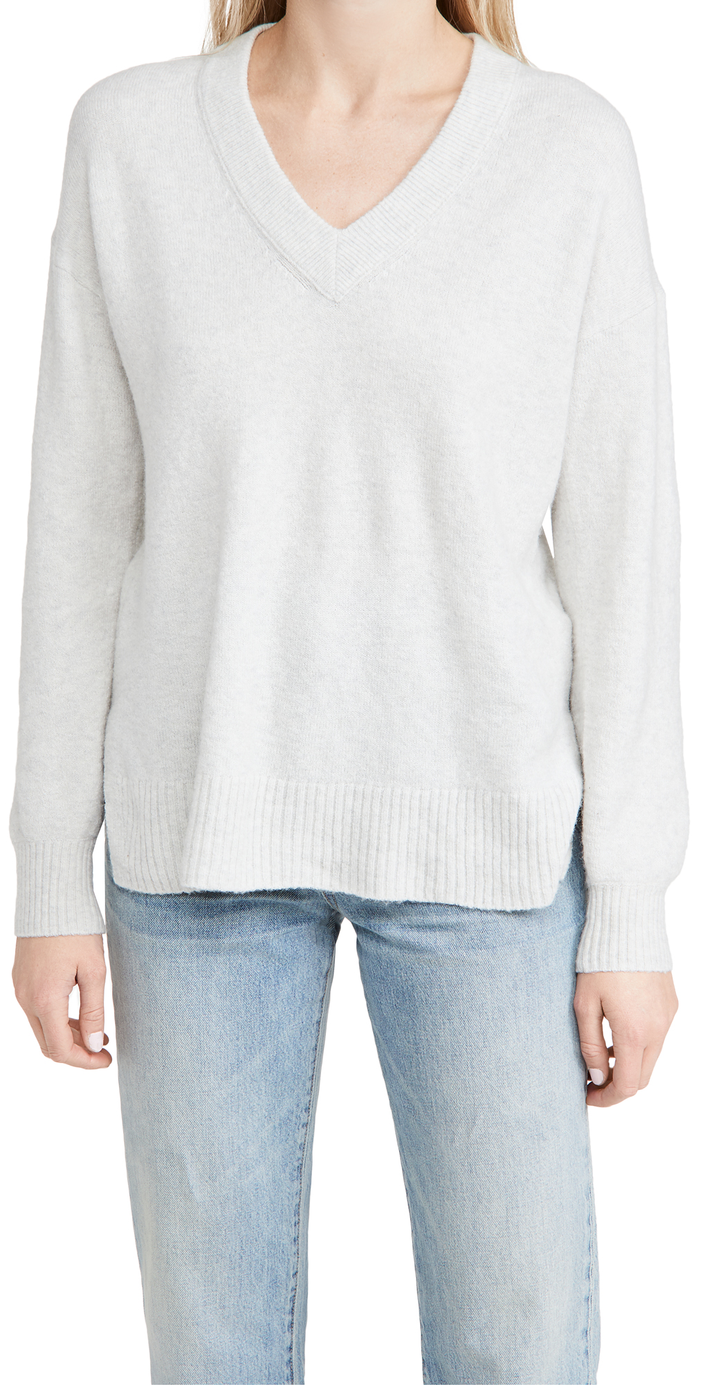 Madewell Bartlett V Neck Pullover Sweater