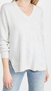 Madewell Bartlett V Neck Pullover Sweater