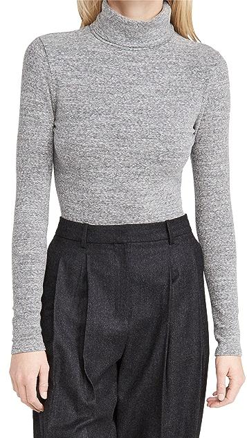 Madewell Turtleneck Thong Bodysuit