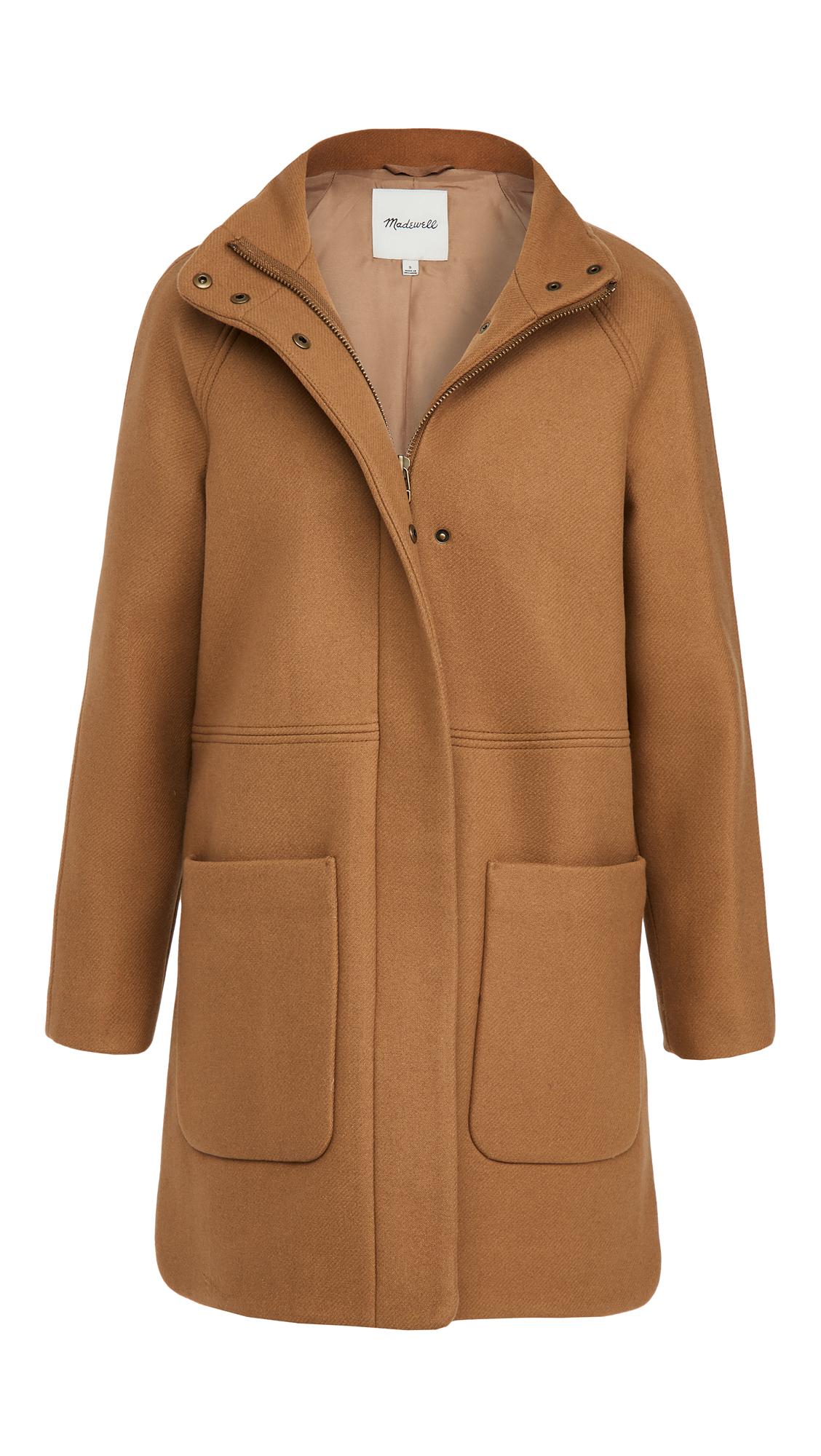 Madewell Estate Cocoon Coat