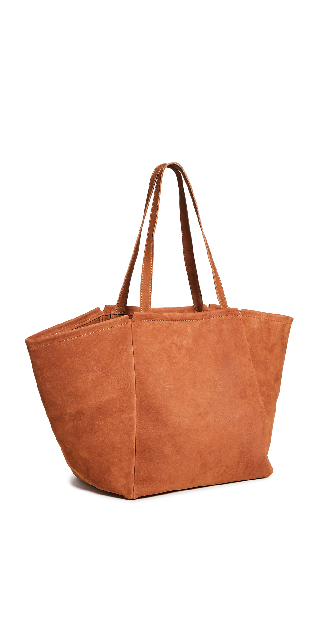 Madewell Covered Buckle Large E/W Tote