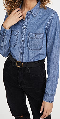 Madewell - Classic Chambray Button Down Shirt