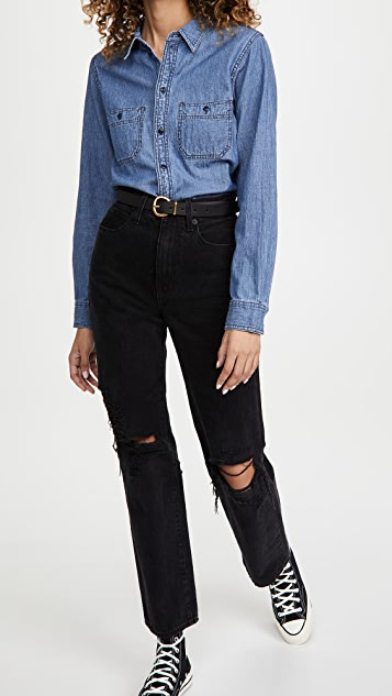 Madewell Classic Chambray Button Down Shirt