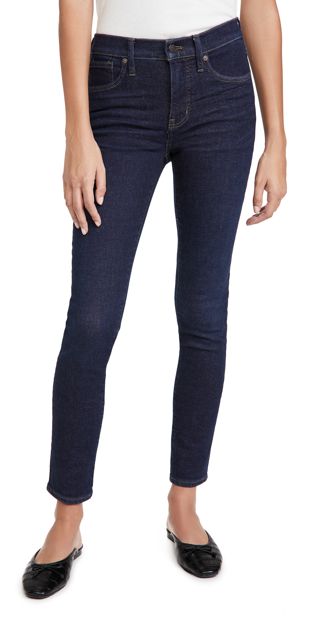 """Madewell 9"""" Mid Rise Jeans"""