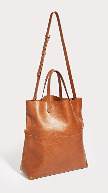 Madewell Fold Over Transport Tote