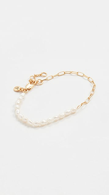 Madewell Part Time Pearl Bracelet