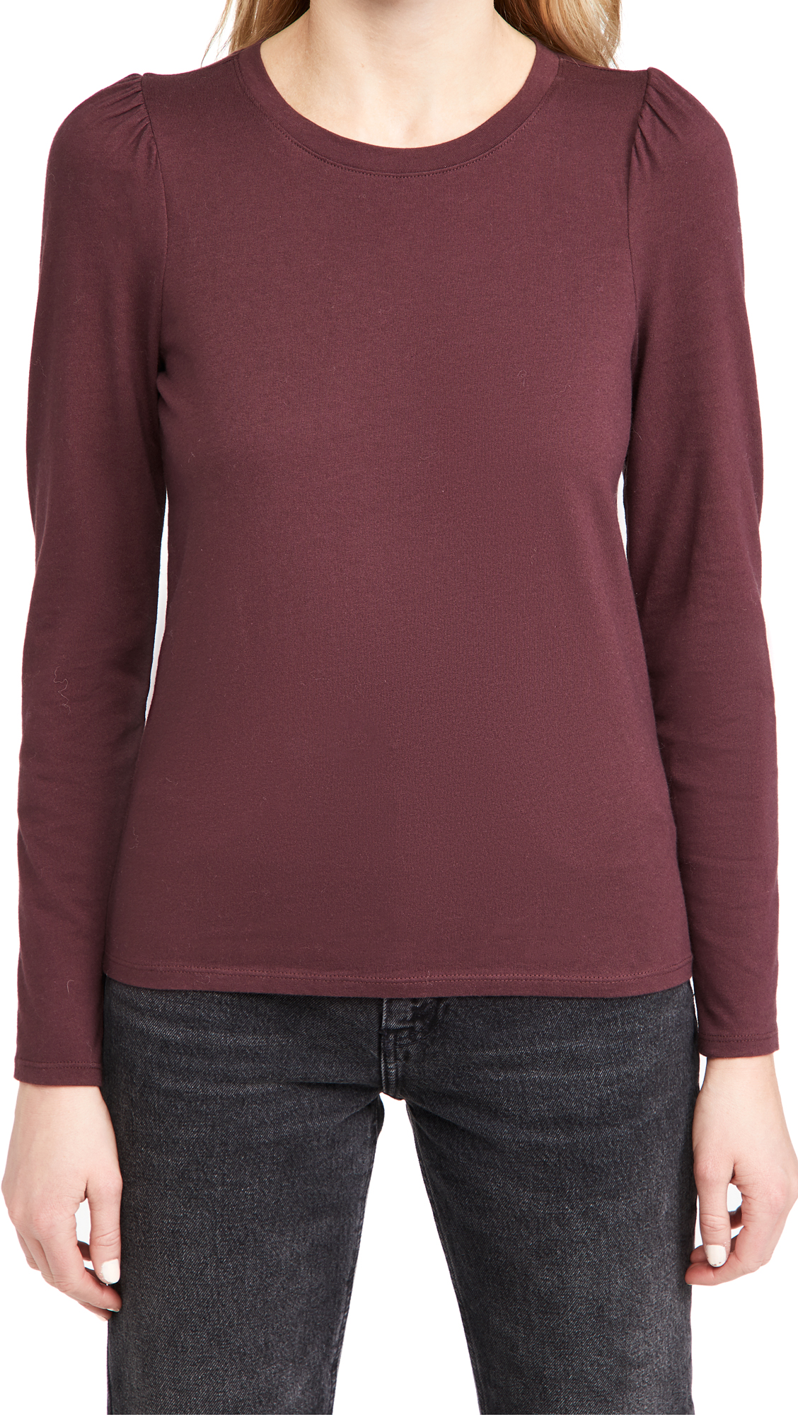 Madewell (Re)sourced Cotton Puff-Sleeve Tee