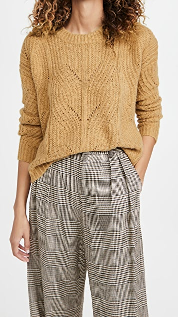 Madewell Dasher Stich Crew Sweater