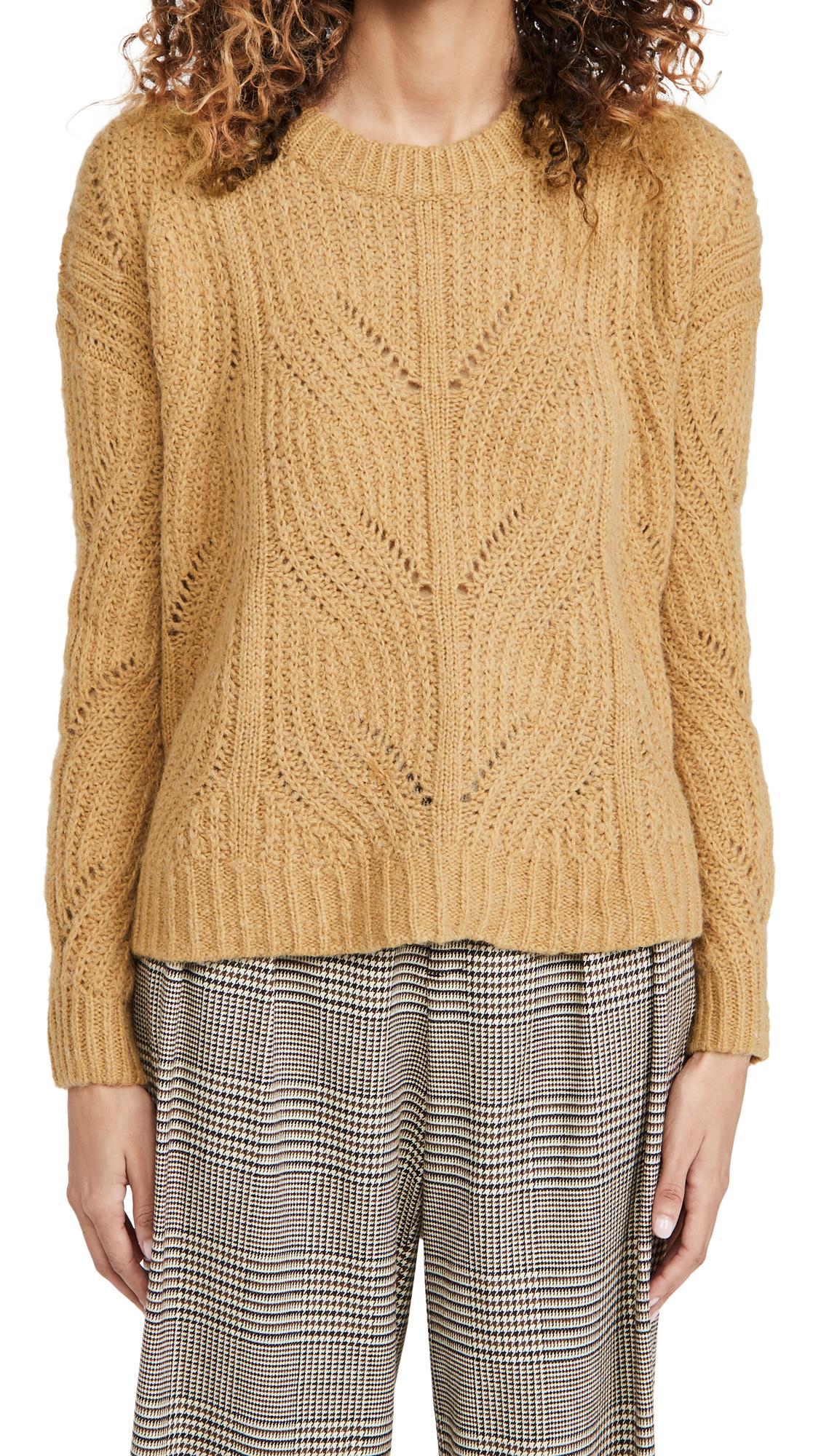 Madewell Dasher Stich Crew Sweater
