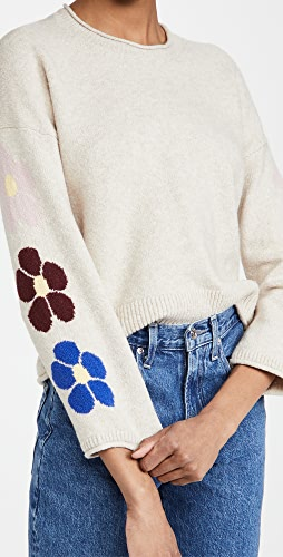 Madewell - Floral Graphic Pullover