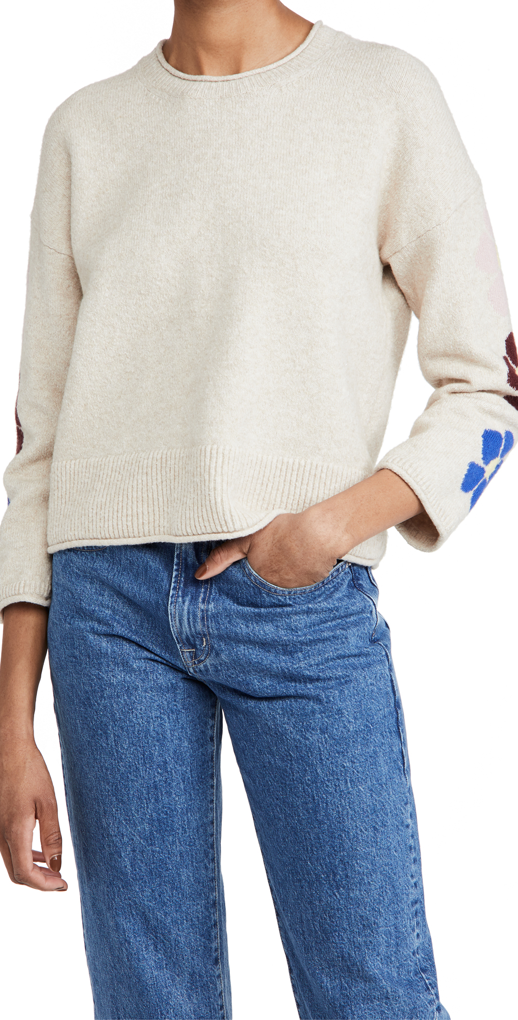 Madewell Floral Graphic Pullover