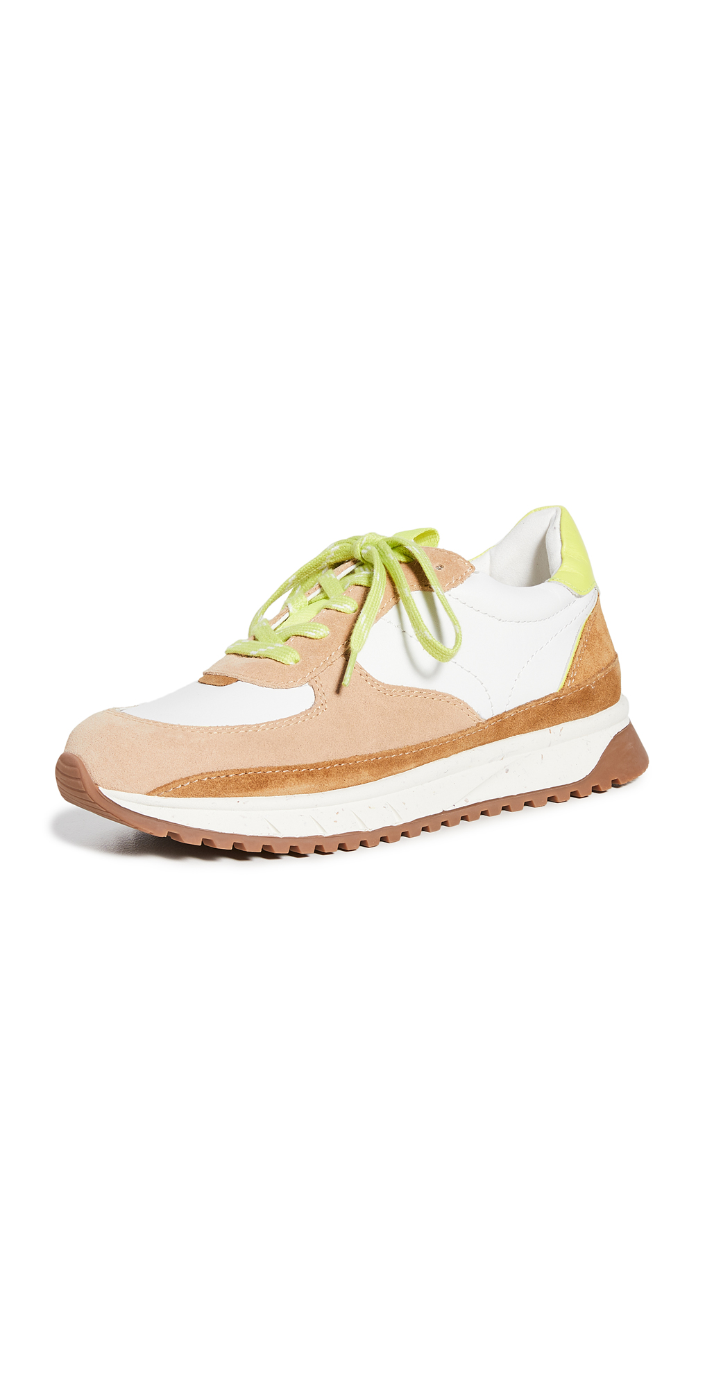 Madewell Sidewalk In Neon Trainer