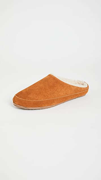 Madewell Suede Scuff Slippers