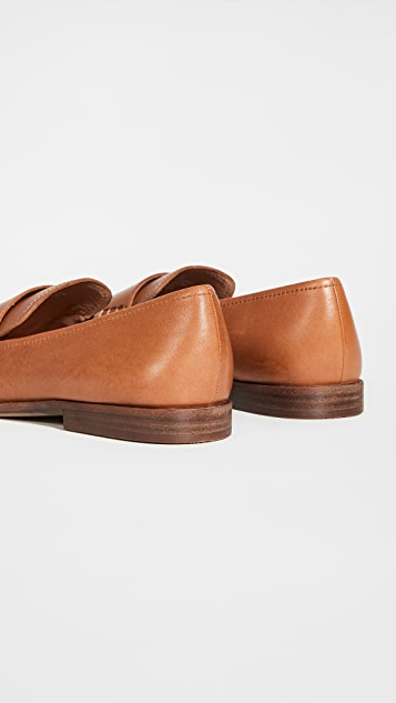 Madewell Alex Loafers In Leather