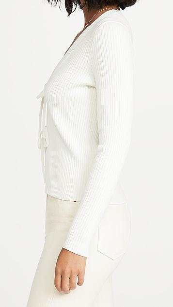 Madewell Jillian Tie Cardigan