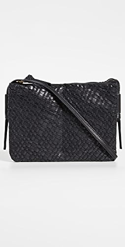 Madewell - The Knotted Crossbody Bag in Woven Leather
