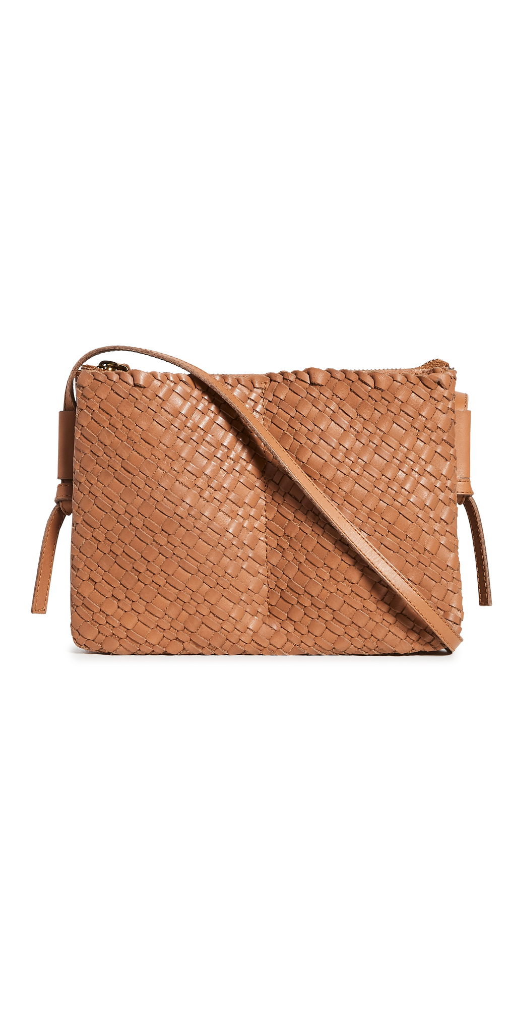 Madewell The Knotted Crossbody Bag in Woven Leather