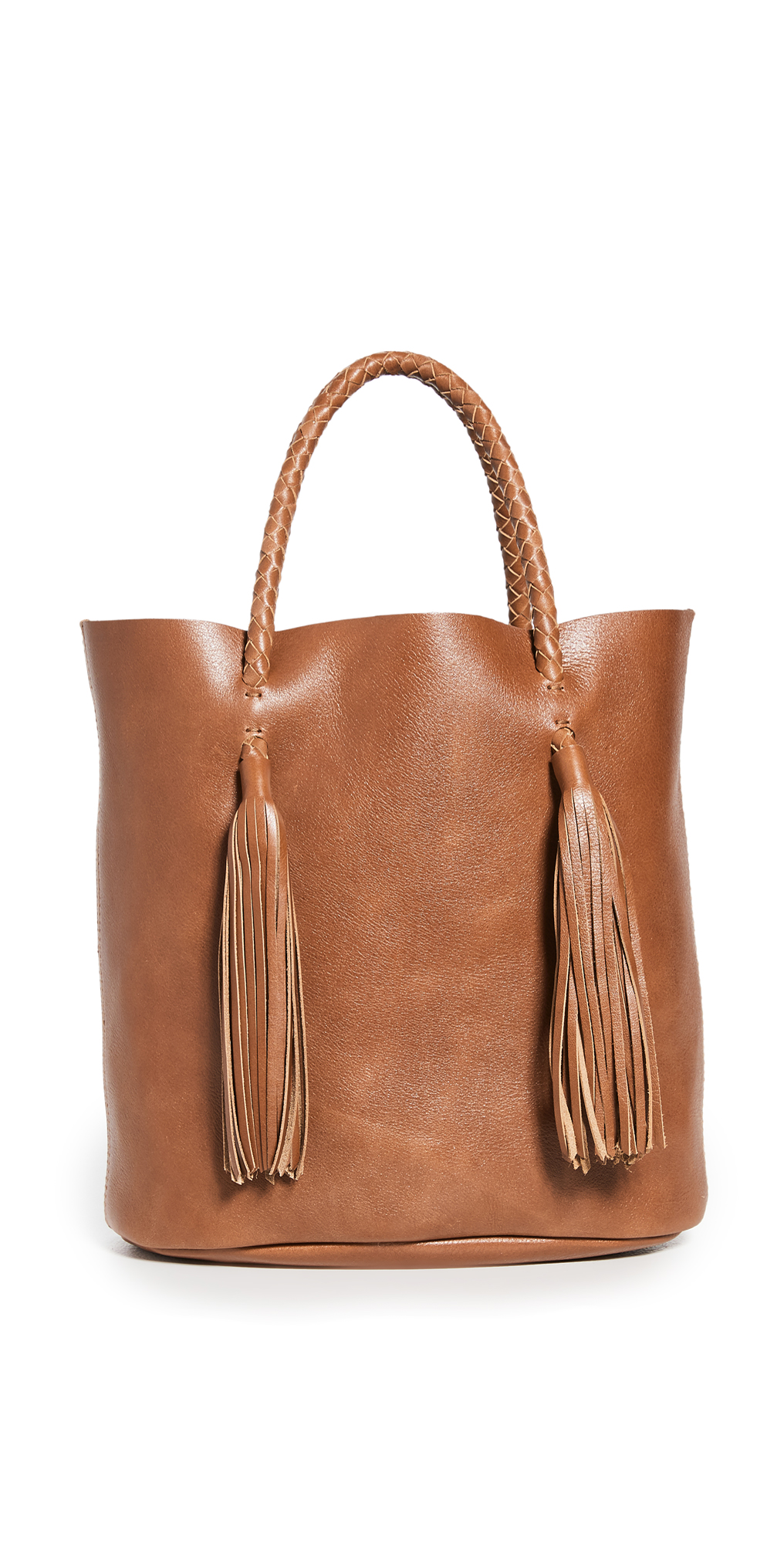 Madewell The Tasseled Bucket Bag