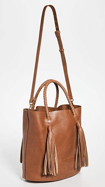 Madewell The Tasseled Bucket Bag
