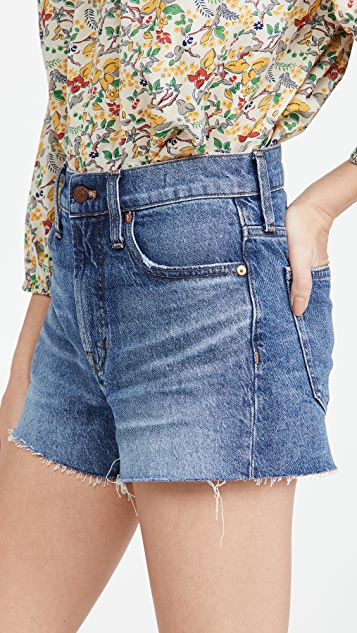 Madewell The Perfect 超短裤