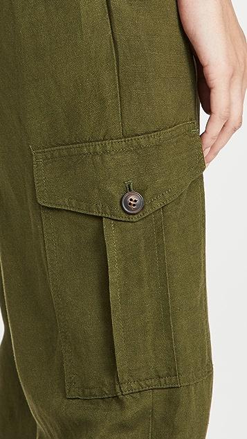 Madewell 工装锥形窄脚裤