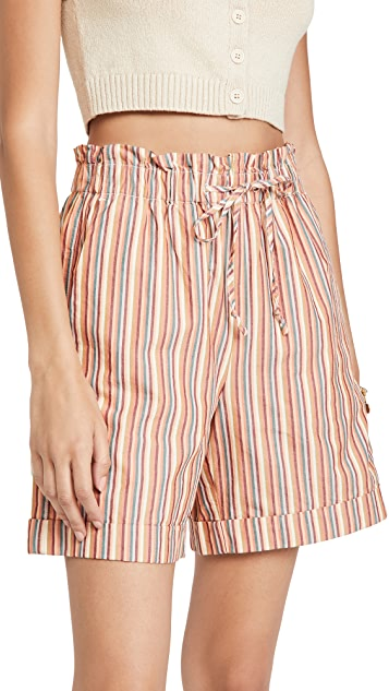Madewell Pull On Shorts