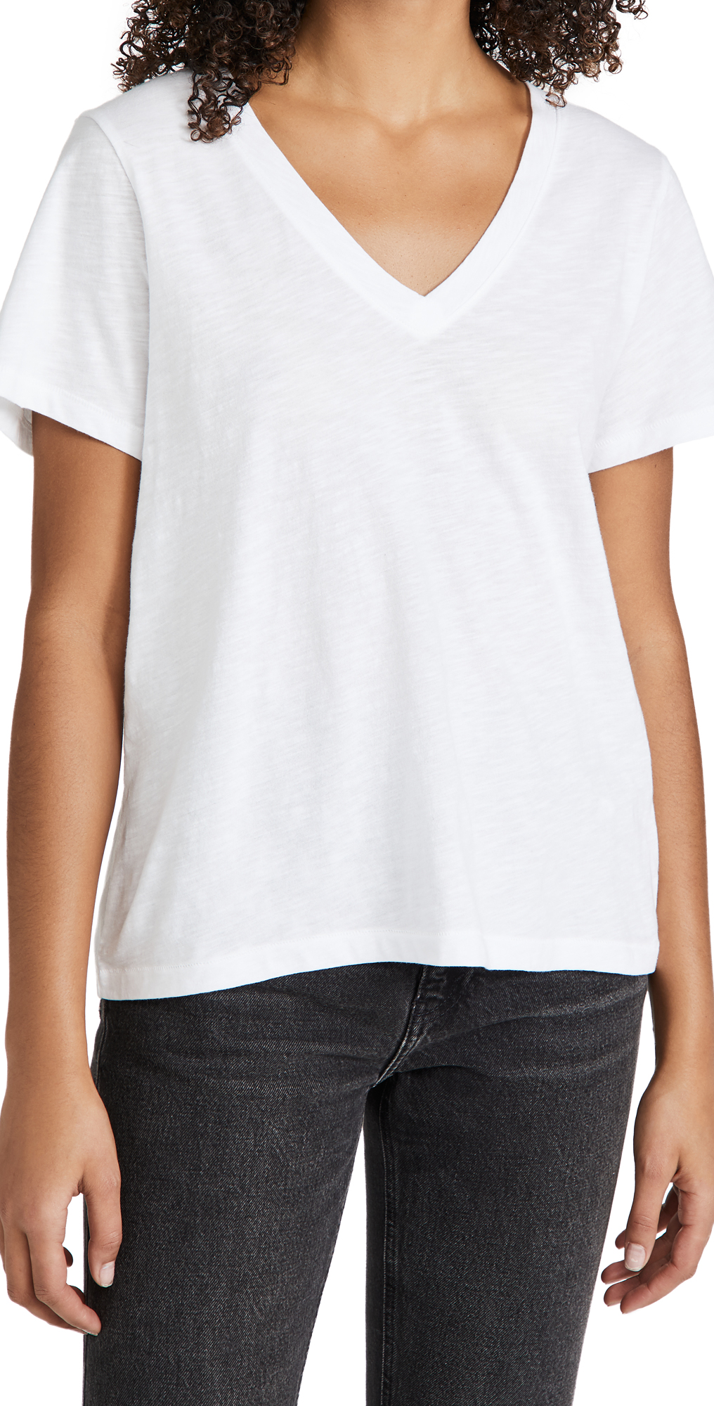 Madewell Whisper Cotton V Neck Tee