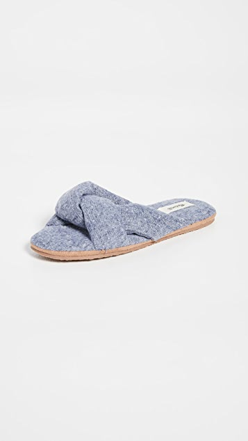 Madewell Sylvie Twisted Slippers