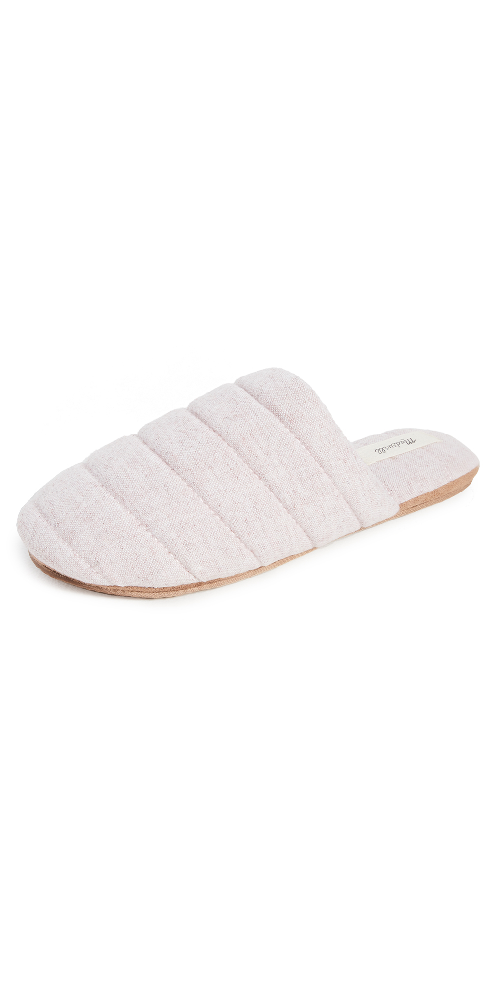 Madewell Slippers QUILTED PUFFY SLIPPERS