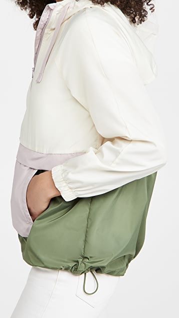 Madewell Packable Rain Popover