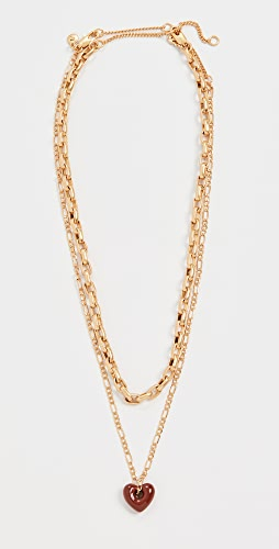 Madewell - Puffy Heart Layer Necklace