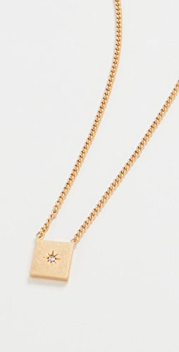Madewell - Small Square Pendant Necklace