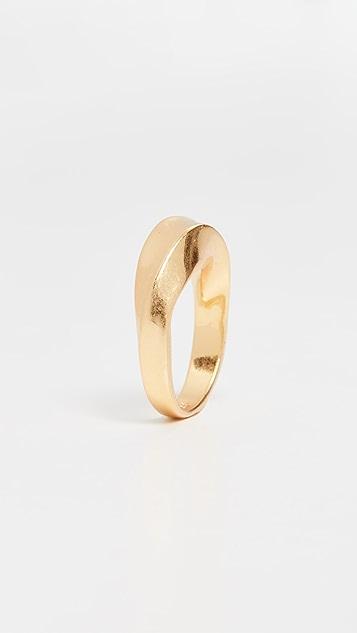 Madewell Bias Chunky Ring