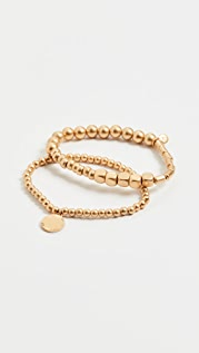 Madewell Orbit Beaded Bracelet