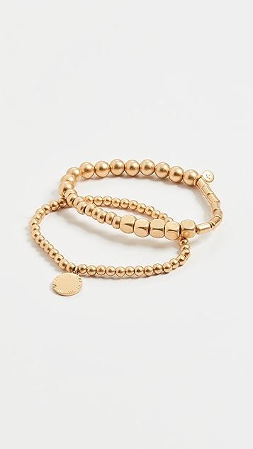 Madewell Orbit Beaded Bracelet